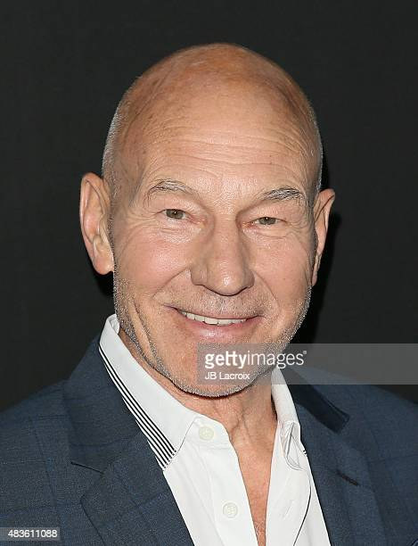 Patrick Stewart attends the STARZ' 'Blunt Talk' series premiere on August 10 2015 in Los Angeles California