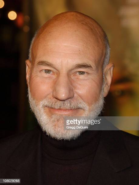 Patrick Stewart during 'Star Trek Nemesis' World Premiere at Grauman's Chinese Theatre in Hollywood California United States