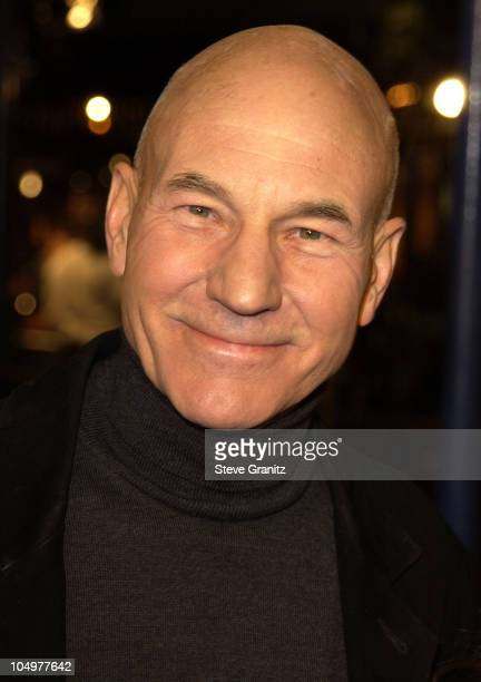 Patrick Stewart during 'The Time Machine' Premiere at Mann Village Theatre in Westwood California United States