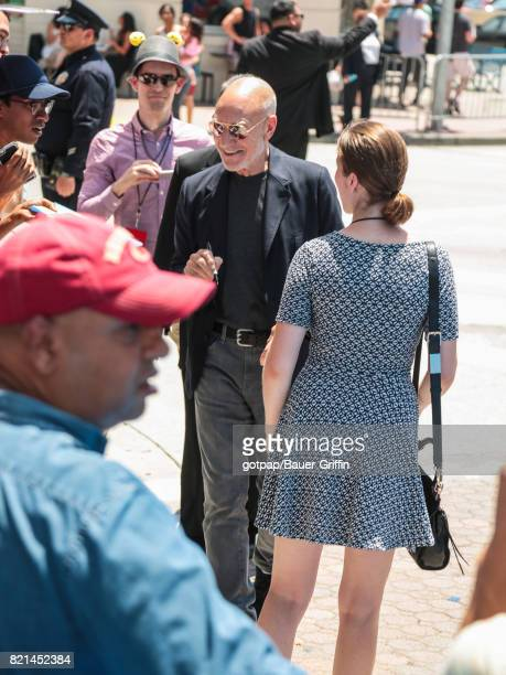 Patrick Stewart is seen on July 23 2017 in Los Angeles California