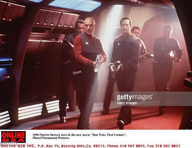 Patrick Stewart stars in the new movie 'Star Trek First Contact'