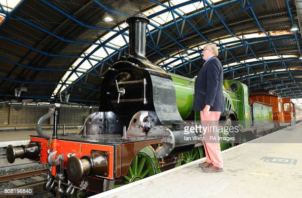 Patrick Stirling looks at the Stirling Single express passenger train which was designed by his great great grandfather Patrick at the Old Eurostar...