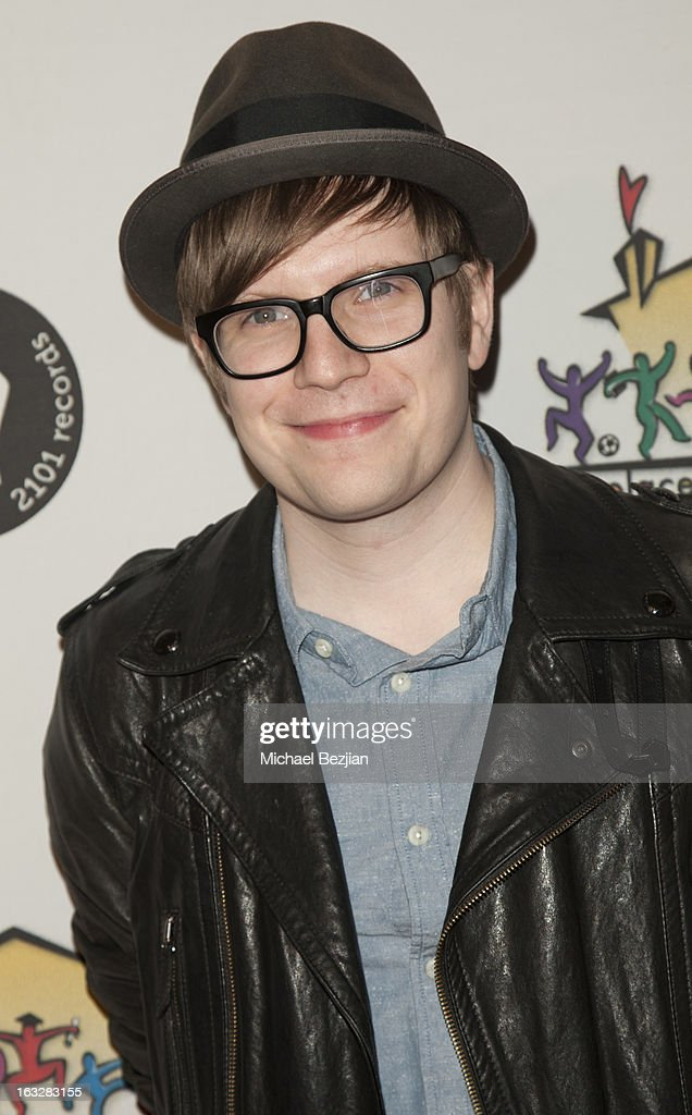 Patrick Stump attends the 7th Annual 'Stars and Strikes' Celebrity Bowling And Poker Tournament Benefiting A Place Called Home at PINZ Bowling & Entertainment Center on March 6, 2013 in Studio City, California.