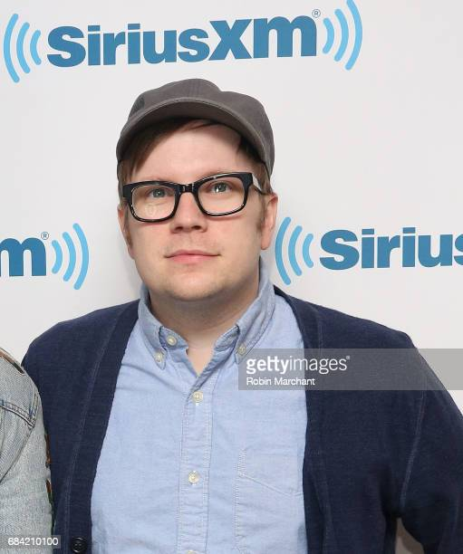Patrick Stump of Fall Out Boy visits at SiriusXM Studios on May 17 2017 in New York City
