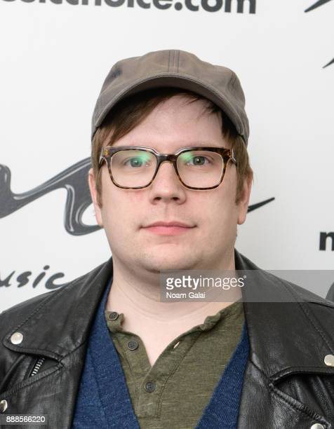 Patrick Stump of Fall Out Boy visits Music Choice on December 8 2017 in New York City