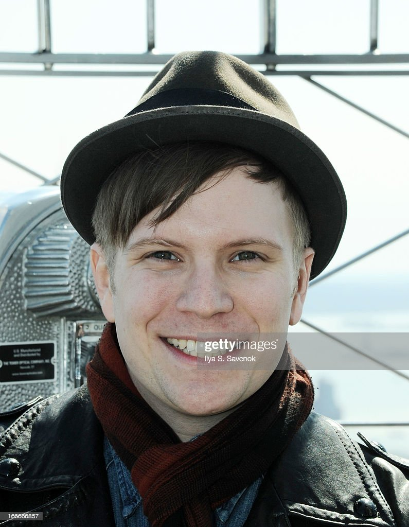 <b>Patrick Stump</b> of Fall Out Boy visits The Empire State Building on April 15, <b>...</b> - patrick-stump-of-fall-out-boy-visits-the-empire-state-building-on-15-picture-id166666857