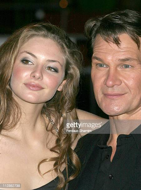 Patrick Swayze and Tamsin Egerton during 'Keeping Mum' London Premiere at Vue Leicester Square in London Great Britain
