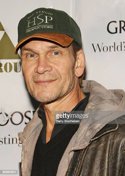 Patrick Swayze attends The Beast Wrap Party presented by Grey Goose Vodka at The Underground on November 23 2008 in Chicago Illinois