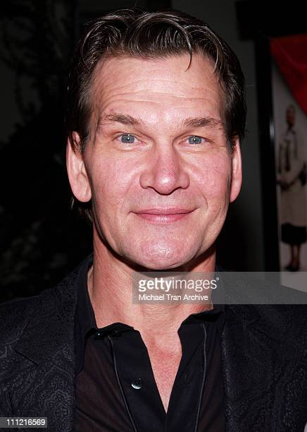 Patrick Swayze during 'Last Holiday' Los Angeles Premiere Arrivals at Cinerama Dome in Hollywood California United States