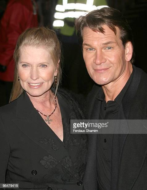 Patrick Swayze with his wife Lisa Niemi