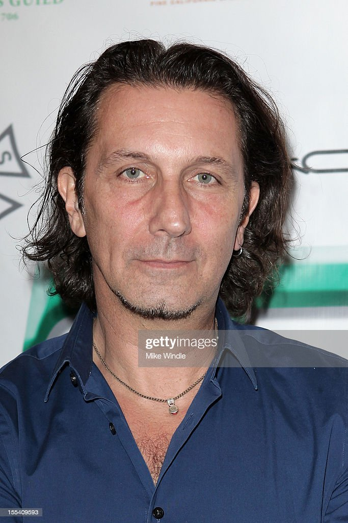 Patrick Tatopolous arrives at The Make-Up Artists And Hair Stylists Guild 75th Anniversary Gala at The Hollywood Museum on November 3, 2012 in Hollywood, California.