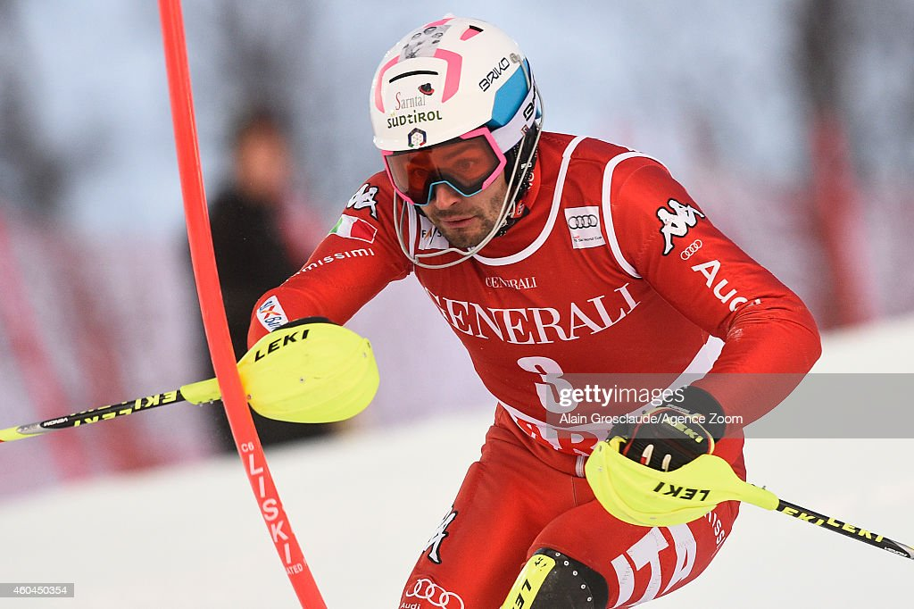 <a gi-track='captionPersonalityLinkClicked' href=/galleries/search?phrase=Patrick+Thaler&family=editorial&specificpeople=807782 ng-click='$event.stopPropagation()'>Patrick Thaler</a> of Italy competes during the Audi FIS Alpine Ski World Cup Men's Slalom on December 14, 2014 in Are, Sweden.