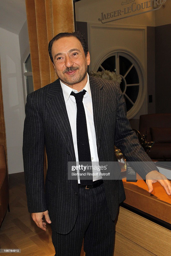 Patrick Timsit attends Jaeger-LeCoultre Vendome Boutique Opening at Jaeger-LeCoultre Boutique on November 20, 2012 in Paris, France .