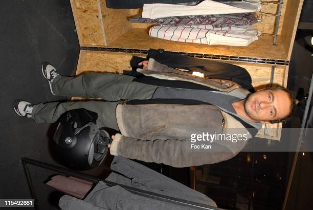 Patrick Timsit attends the Concept Store 66 Champs Elysees Opening Party on December 11 2007 in Paris France