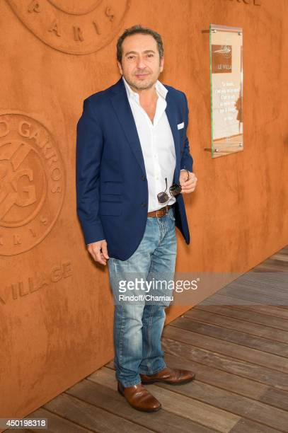 Patrick Timsit attends the french open 2014 at Roland Garros on June 6 2014 in Paris France