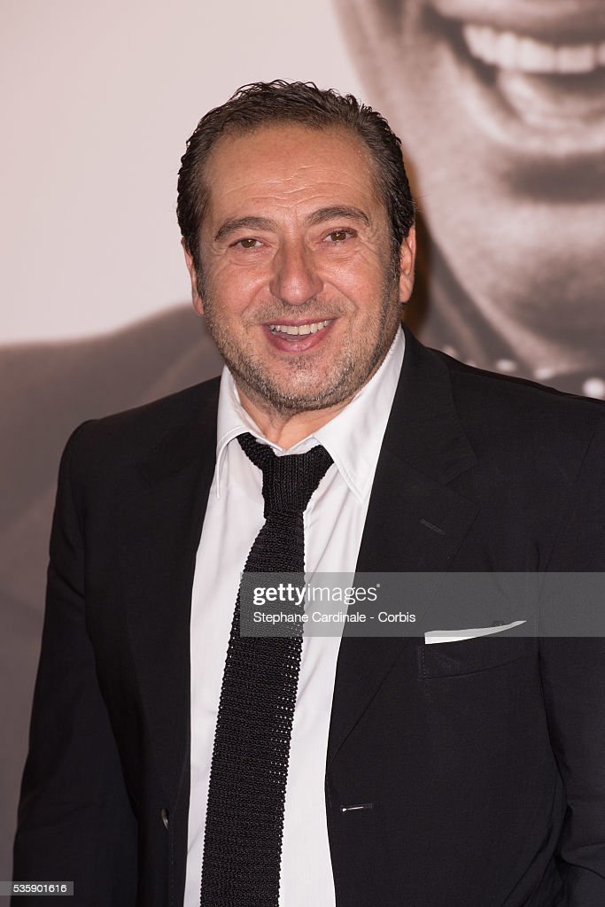 Patrick Timsit attends the Tribute to Jean Paul Belmondo and Opening Ceremony of the Fifth Lumiere Film Festival, in Lyon.