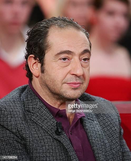 Patrick Timsit attends Vivement Dimanche TV show on March 21 2012 in Paris France