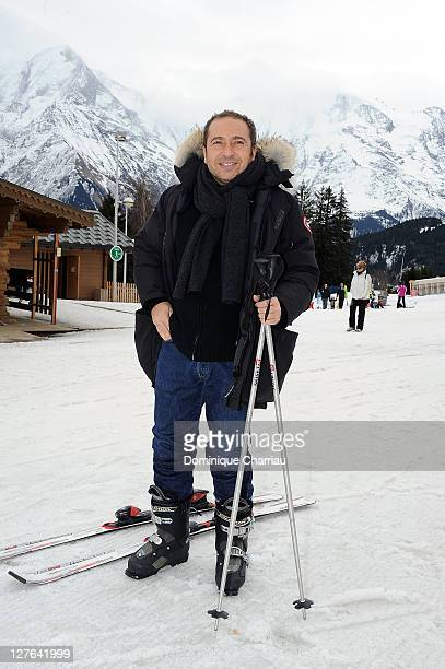 Patrick Timsit poses as he attends the27th International Festival MontBlanc Humour in Saint Gervaison March 13 2011 in SaintGervais France