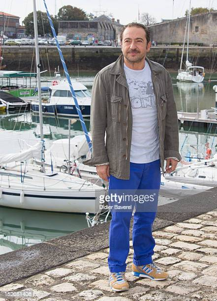 Patrick Timsit poses during the 'L'Innocent' Photocall at La Rochelle Fiction Television Festival on September 14 2012 in La Rochelle France
