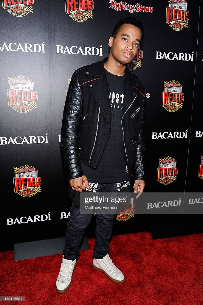 Patrick Toussaint attends the 2013 Bacardi Rebels event hosted by Rolling Stone at Roseland Ballroom on May 20, 2013 in New York City.