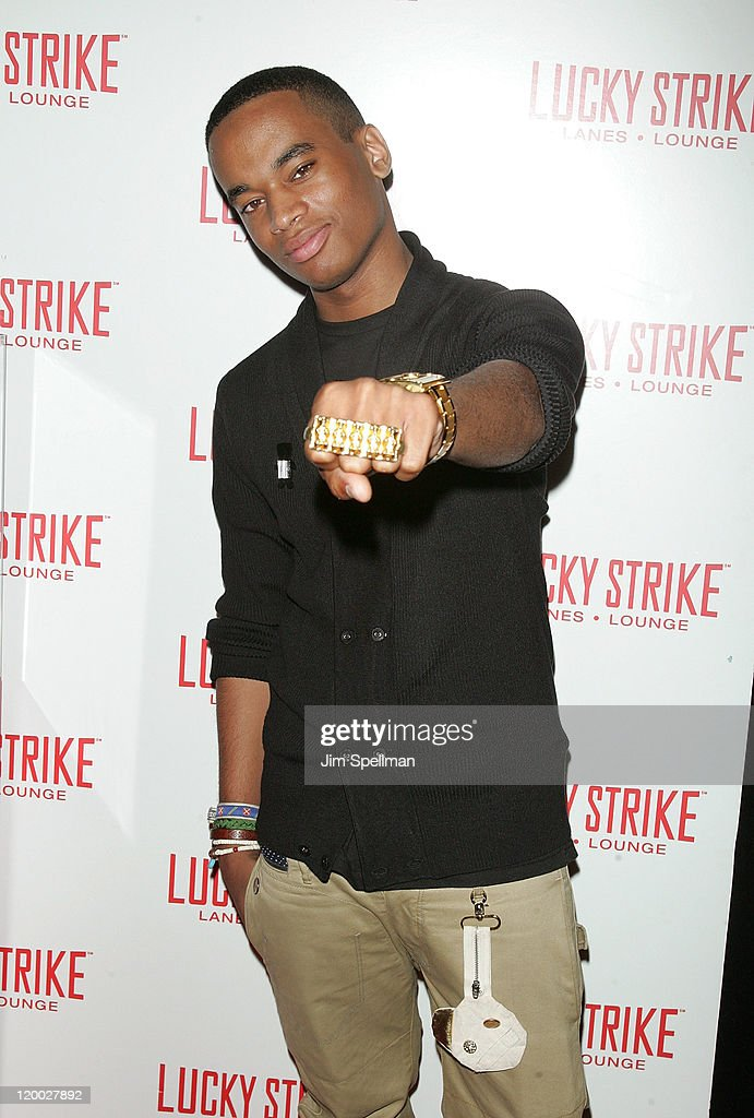 Patrick Toussaint attends the Puma x Lucky Strike Bowling Shoe launch at Lucky Strike on July 28, 2011 in New York City.