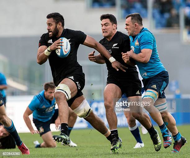 Patrick Tuipulotu of New Zealand during the International Match between Italy and New Zealand at Stadio Olimpico Rome Italy on 12 November 2016 Photo...