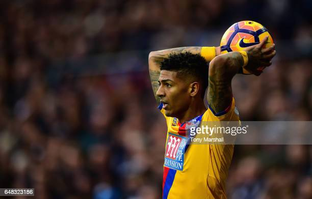 Patrick van Aanholt of Crystal Palace during the Premier League match between West Bromwich Albion and Crystal Palace at The Hawthorns on March 4...