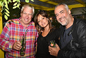 Patrick Venot from Pernod Aude R and Laurent le Pape from infosBarcom attend the ' Plaza Havana Party ' on July 21 2016 in Paris France