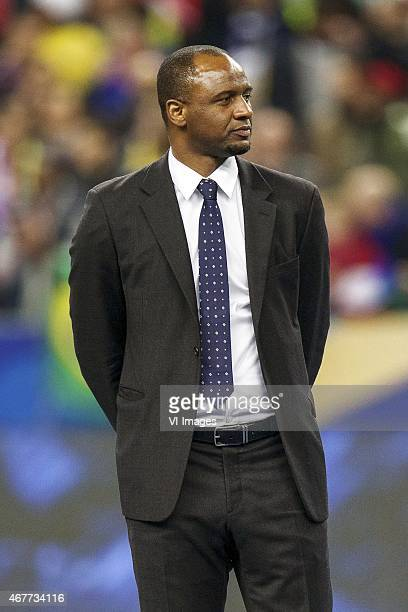 Patrick Vieira during the International friendly match between France and Brazil on March 26 2015 at Stade France in Paris France