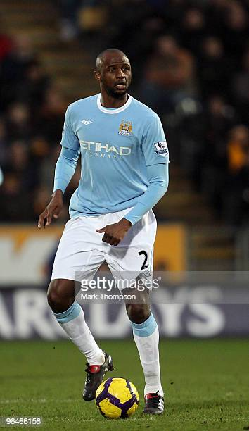 Patrick Vieira of Manchester City in action during the Barclays Premier League match between Hull City and Manchester City at the KC Stadium on...