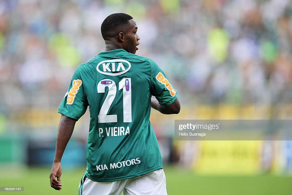 <a gi-track='captionPersonalityLinkClicked' href=/galleries/search?phrase=Patrick+Vieira&family=editorial&specificpeople=202125 ng-click='$event.stopPropagation()'>Patrick Vieira</a> of Palmeiras walks during a match between Palmeiras and UA Barbarense as part of the Paulista Championship 2013 at Pacaembu Stadium on February 24, 2013 in Sao Paulo, Brazil.
