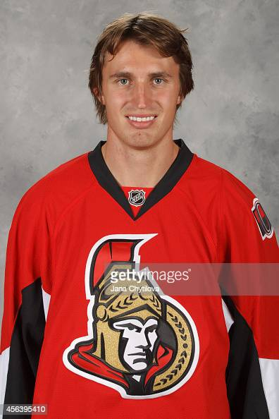 Patrick Wiercioch of the Ottawa Senators poses for his official headshot for the 20142015 season on September 18 2014 at Canadian Tire Centre in...