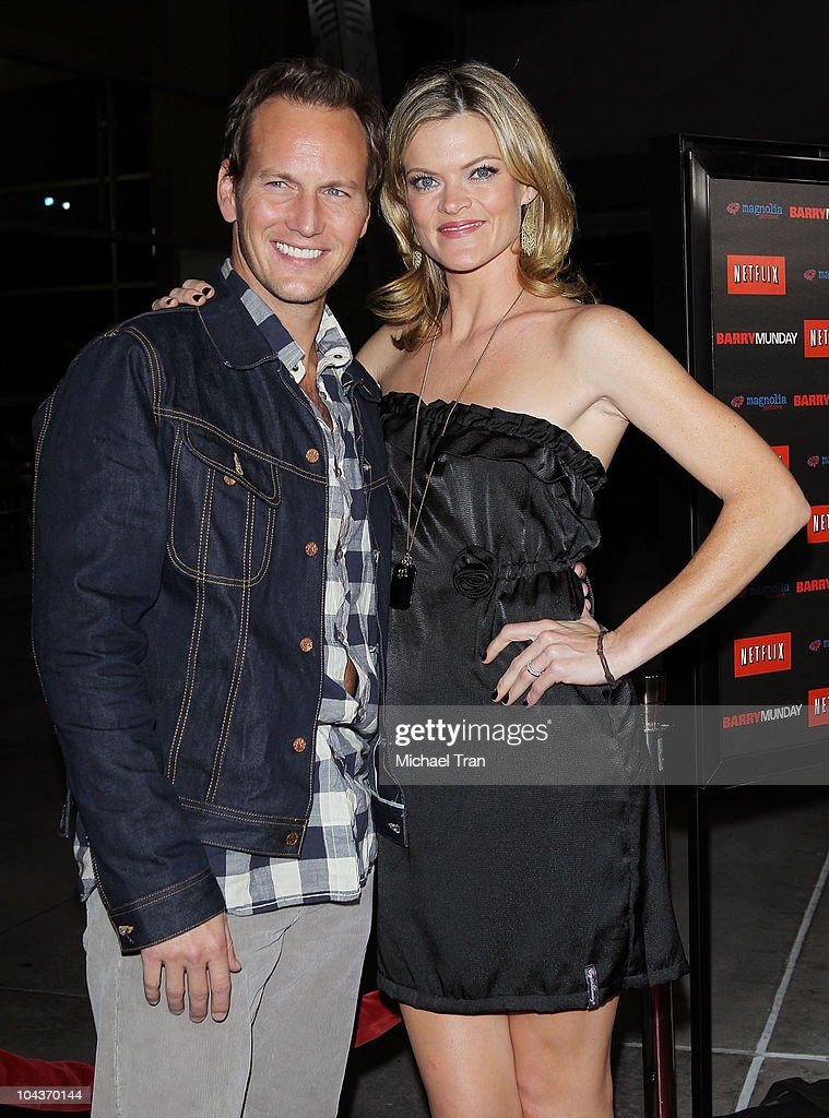 Patrick Wilson and Missi Pyle arrive at the 'Barry Munday' Los Angeles premiere held at ArcLight Cinemas on September 22 2010 in Hollywood California