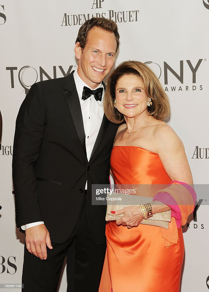 Patrick Wilson and Tova Feldshuh attends the 65th Annual Tony Awards at the Beacon Theatre on June 12, 2011 in New York City.