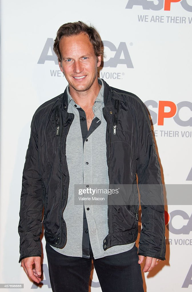 Patrick Wilson arrives at the ASPCA event Honoring Kaley Cuoco-Sweeting And Nikki Reed on October 22, 2014 in Belair, California.
