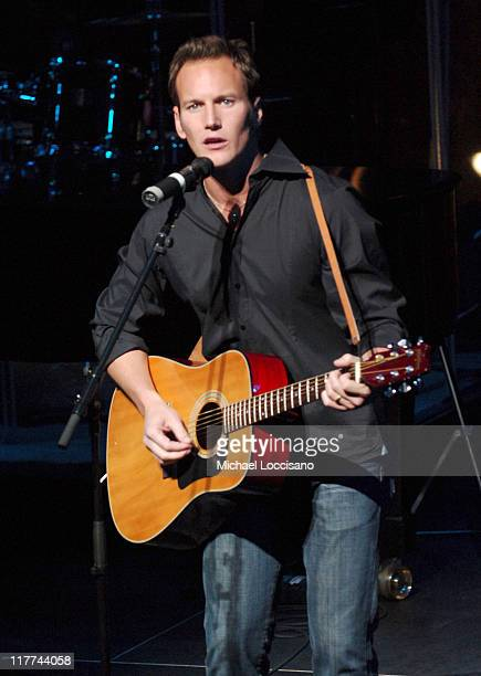 Patrick Wilson during Country Takes New York City Broadway Meets Country Show at Allen Room Jazz at Lincoln Center in New York City New York United...