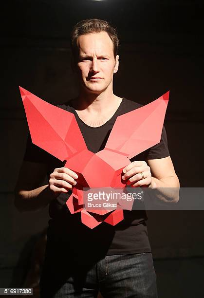 Patrick Wilson is the latest actor to perform in the new play 'White Rabbit Red Rabbit' at The Westside Theatre on March 21 2016 in New York City