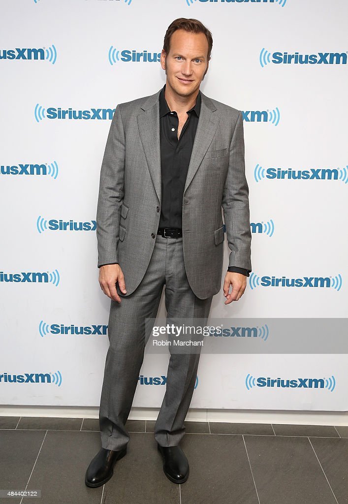 Patrick Wilson visits at SiriusXM Studios on August 18, 2015 in New York City.