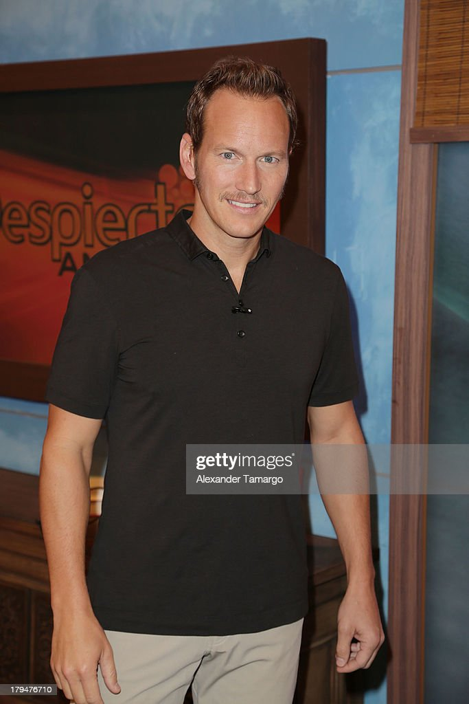 <a gi-track='captionPersonalityLinkClicked' href=/galleries/search?phrase=Patrick+Wilson+-+Actor&family=editorial&specificpeople=14726270 ng-click='$event.stopPropagation()'>Patrick Wilson</a> visits Univision's 'Despierta America' at Univision Headquarters on September 4, 2013 in Miami, Florida.