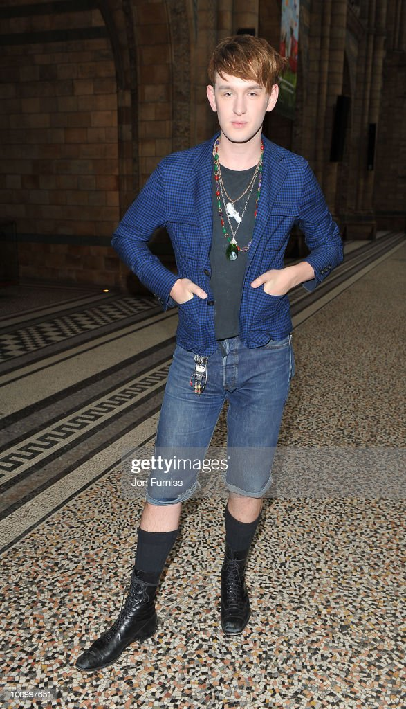 Patrick Wolf attends the launch party for 'The Deep' exhibition at Natural History Museum on May 26, 2010 in London, England.