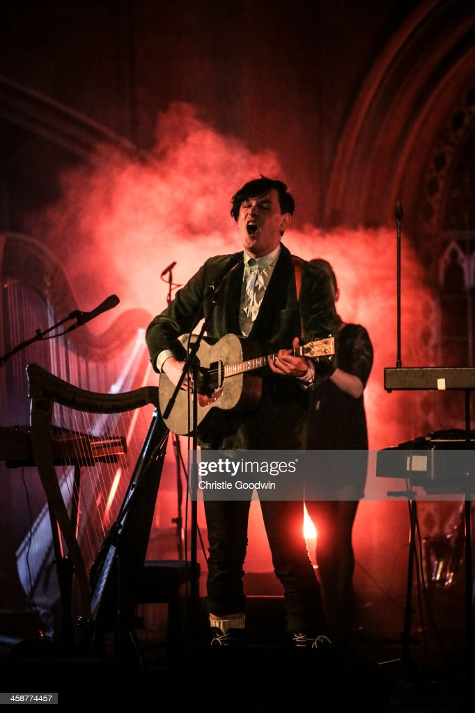 Patrick Wolf Performs At Union Chapel In London