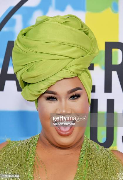 PatrickStarrr attends the 2017 American Music Awards at Microsoft Theater on November 19 2017 in Los Angeles California