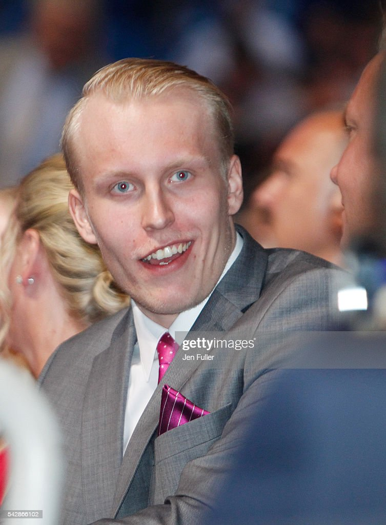 <a gi-track='captionPersonalityLinkClicked' href=/galleries/search?phrase=Patrik+Laine&family=editorial&specificpeople=13600427 ng-click='$event.stopPropagation()'>Patrik Laine</a> waits to be selected second overall by the Winnepeg Jets during round one of the 2016 NHL Draft on June 24, 2016 in Buffalo, New York.