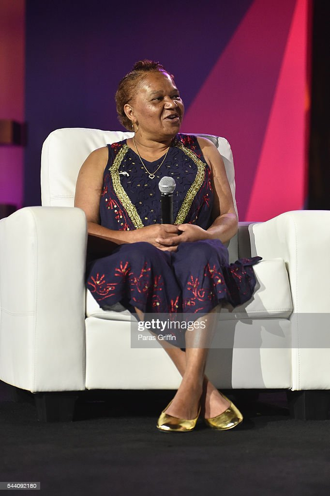 Patrina Peters speaks onstage during the Mothers Saving Our Sons panel during the 2016 ESSENCE Festival Presented By Coca-Cola at Ernest N. Morial Convention Center on July 1, 2016 in New Orleans, Louisiana.
