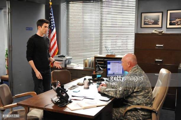MULANEY 'Patriot Acts' Episode 113 Pictured John Mulaney as John Mulaney Rocky McMurray as Recruiter