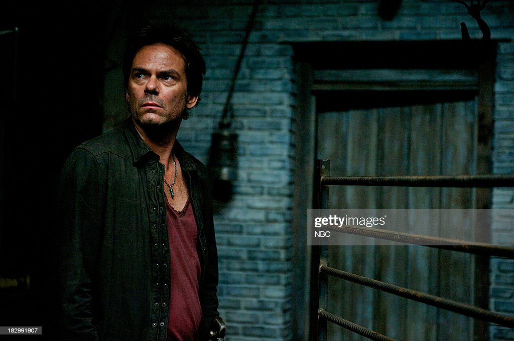 REVOLUTION -- 'Patriot Games' Episode 204 -- Pictured: Billy Burke as Miles Matheson --