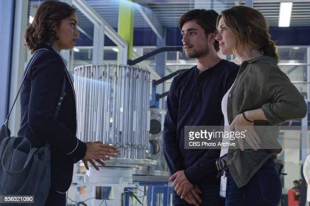 'Patriot Games' Grace narrowly escapes a deadly assassin and Darius and Liam forge unlikely alliances on SALVATION Wednesday August 23 Pictured Shazi...