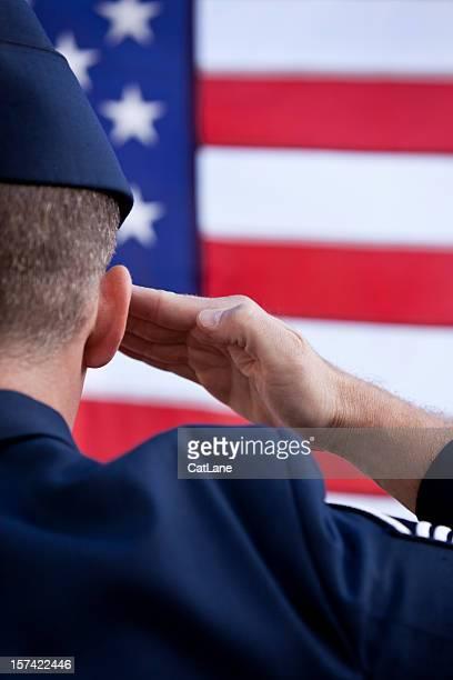 Patriotic American MIlitary Soldier
