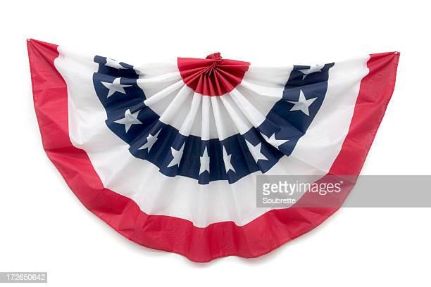 Patriotische Bunting Dekoration
