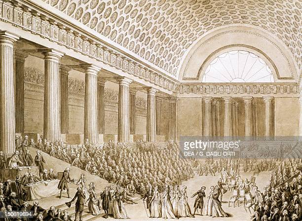 Patriotic donations to the National Assembly September 7 1789 French Revolution France 18th century